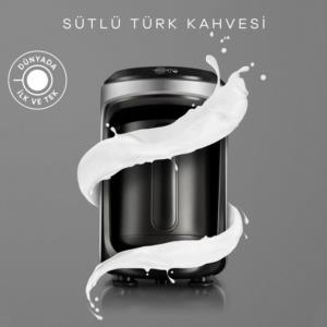 Karaca Hatır Hüps Sütlü Türk Kahve Makinesi Antrasit