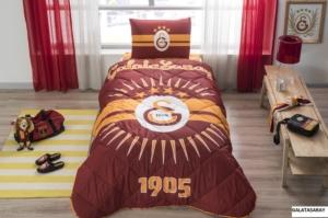 Taç 8266 Lisanslı Tek Kişilik Yorgan Seti Galatasaray