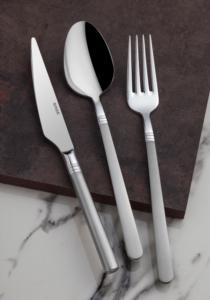 Onon Paris 84 Parça Saten Çatal Kaşık Bıçak Takımı Kutulu Set
