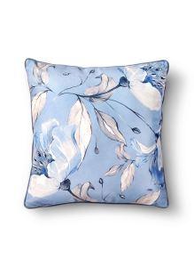Flower Yastık - Açık Mavi 50 x 50cm