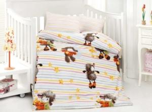 Altınbaşak Kuzucuk Oranj Bebek Uyku Seti