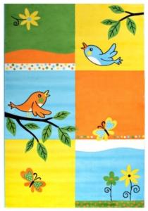 Sanat Halı Bambino Çocuk Halısı 2103 Yellow