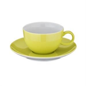 Kütahya Porselen 12 Parça Fıstık Yeşili Çay Takımı