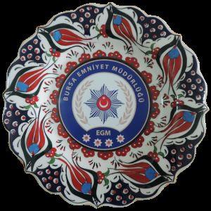 Oğuz Çini  30cm Promosyon ürünleri