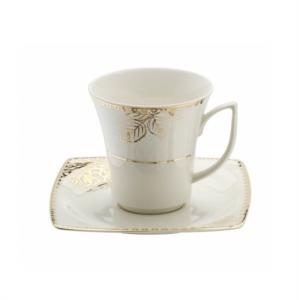 Kütahya Porselen Bone Mare 9679 Desen Çay Fincan Takımı