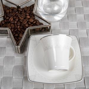 Güral Porselen 12 Parça Caroline Türk Kahvesi Takımı 5470