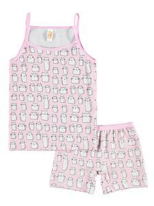 Civil Kız Çocuk İç Çamaşır Takımı 2-8 Yaş Pembe