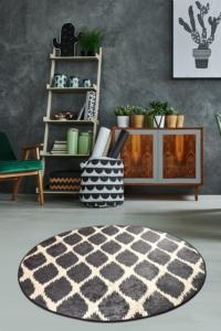 Chilai Home Shadow Dekoratif Halı Djt Çap 100 Cm