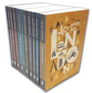 Jack London Seti (10 Kitap Takım)-Jack London