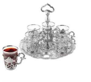 Sena Tutaç Takımlı Hanzade Çay Seti 180-K-11