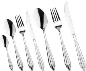 Karaca Elegance Mantilla 8 Kişilik 56 Parça Çatal Kaşık Bıçak Seti Kutulu