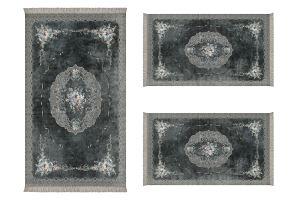 ALANUR ALMİRA YATAK ODASI HALISI 3 lü Set ( 80 x 150 + 2 adet 60 x 100 ) AL310V177MN
