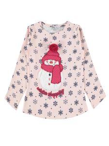 Cvl Kız Çocuk Sweatshirt 6-9 Yaş Somon