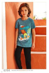 Güryıldız 6764 Kısa Kollu Erkek Çocuk Pijama Takımı