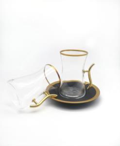 Özcam Kristal 12 Parça 6 Kişilik Çay Takımı- D-1383