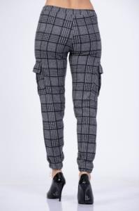 Darkline Kargo Siyah Çizgili Pantolon 1033