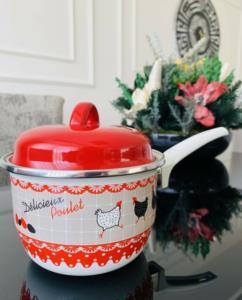 Arya Züccaciye Vintage Emaye Rafadan Yumurta Ve Sos Tavası