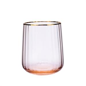 Karaca Misty Line Cam Su Bardağı Turuncu