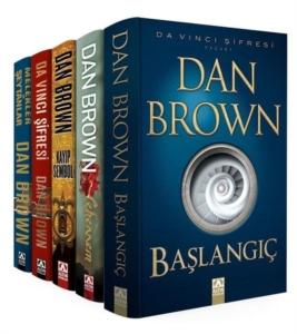 Dan Brown Seti - Robert Langdon Serisi (5 Kitap Takım)-Dan Brown