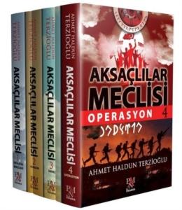 Aksaçlılar Meclisi Seti (4 Kitap Takım)-Ahmet Haldun Terzioğlu