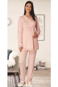 Carpediem Pudra Hamile Lohusa Pijama Takımı 1501