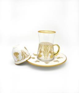Özcam Kristal 18 Parça 6 Kişilik Çay Takımı- D-1735