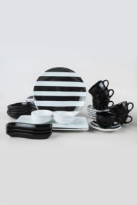 Keramika Simetri  Kahvaltı Takımı 31 Parça 6 Kişilik