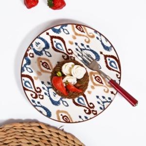 Kosova Seramik 6 Adet Pasta Tabağı IKAT-006