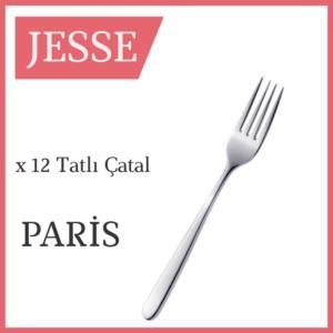 Jesse Paris 84 Parça Çatal Kaşık Bıçak Seti