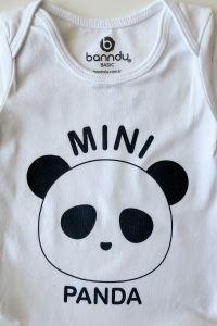 Bebek Body - Mini Panda