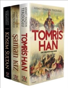 Türk Tarihi Kadınları Seti (3 Kitap Takım)-Ahmet Haldun Terzioğlu
