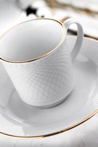 Kütahya Porselen Zümrüt Çay Fincan Takımı