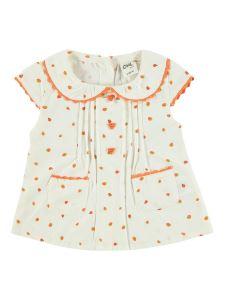 Civil Baby Kız Bebek Gömlek 6-18 Ay Turuncu