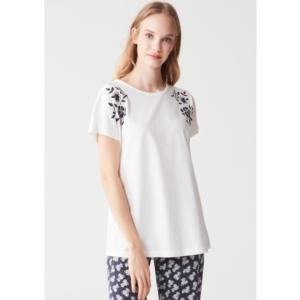 Mod Collection 3267 Bayan Pijama Takımı Ekru