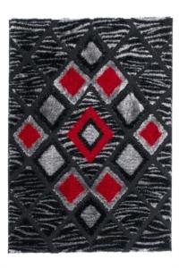 Lalee Halı Home Collection Sedef Lurex Serisi SED 281 Red