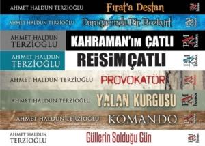 Ahmet Haldun Terzioğlu Siyasi Roman Seti (8 Kitap Takım)-Ahmet Haldun Terzioğlu
