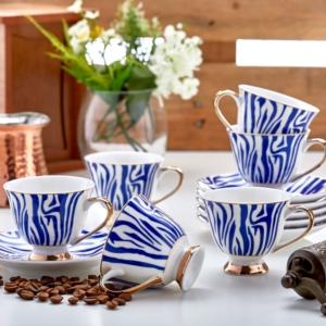 Özlife 12 Parça Kahve Fincan Takımı- 1516
