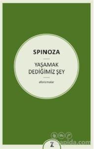 Yaşamak Dediğimiz Şey Benedictus de Spinoza