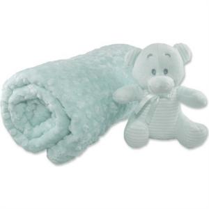 İpekçe Home Tomurcuk Bebek Battaniye Yeşil