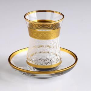 Akba Şöhret Beyaz V1 Çay takımı