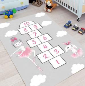 Yıltaş Dijital Baskılı Kaydırmaz Çocuk Halısı 3215