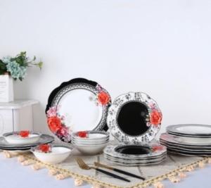 Acar 24 Parça Porselen Yemek Takımı PORWM-009631/2