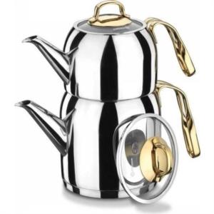 Korkmaz Goldia Çaydanlık Takımı A193