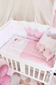 Aybi Baby Little Princess Anne Yanı Beşik Tekstili 4302