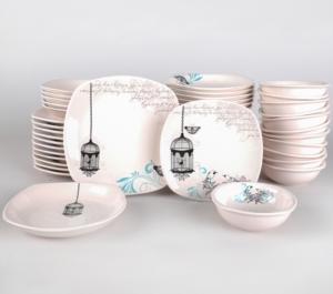 Keramika Retro Yemek Takımı 48 Parça 12 Kişilik