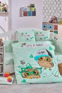 Hobby Ranforce Bebek Nevresim Takımı Cool Baby Mint