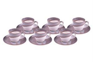 Bambum Grace 6 Kişilik Kahve Fincan Takımı