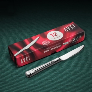 Avcı Sarma 12 Parça Tatlı Bıçağı SRM-12