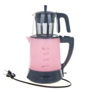 Sevenlex Teefan Elektrikli Çay Makinesi Pembe
