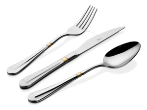 Taç Ravello Vesta 84 Parça Çatal Kaşık Bıçak Seti Gold